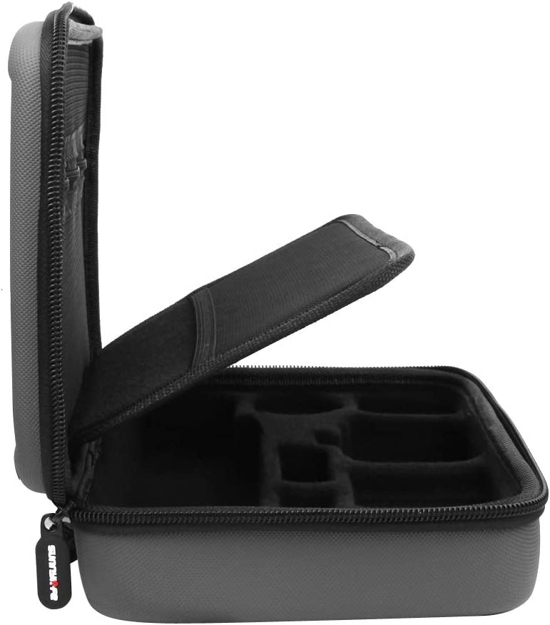 Size Shockproof Waterproof Portable Storage Box for DJI Osmo Action 24.5cm x 17.9cm x 6.0cm Durable