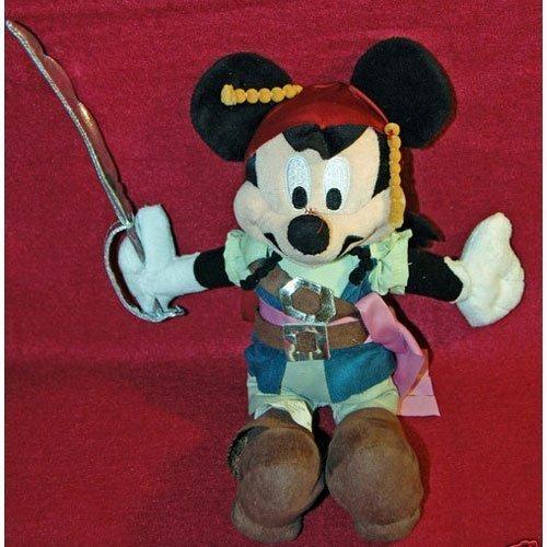 Disney Pirate Jack Sparrow Mickey Plush Toy - ()
