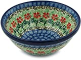 Polish Pottery Cereal / Soup Bowl 5-inch (Maraschino)