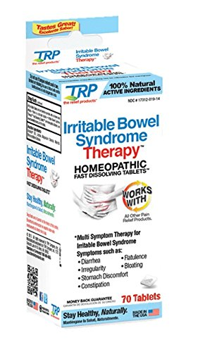 TRP Homeopathic Irritable Bowel Syndrome Therapy, 70 Tablets Per Bottle (2 ()