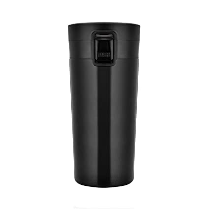 0c8fd3ccb44 Vacuum Insulated Cup, Rainbrace Stainless Steel Travel Coffee Mug Drink  Flask Wide Mouth Compact One