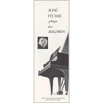 effe5ec9c Amazon.com  RelicPaper 1963 Baldwin Pianos  Jose Iturbi