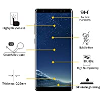 [2-PACK] Galaxy S8 Plus Screen Protector Glass [Easy Installation Tray], iAnder 3D Curved [Tempered Glass] Screen Protector for Galaxy S8 Plus S8+ [Case Friendly] from iAnder