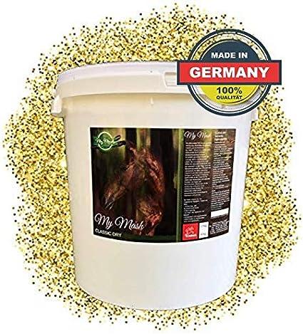 EMMA Mash Horse Feed Mezcla para la Flora intestinal intacta y la digestión Estable I Mezcla Seca I apoya la digestión, la vitalidad y el Pelo Brillante en los Caballos I Senior 8 kg