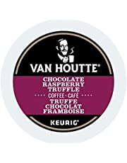 Van Houtte Chocolate Raspberry Truffle Single Serve Keurig Certified Recyclable K-Cup pods for Keurig brewers, 12 Count