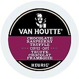 Van Houtte Chocolate Raspberry Truffle Single Serve Keurig Certified K-Cup pods for Keurig brewers, 24 Count