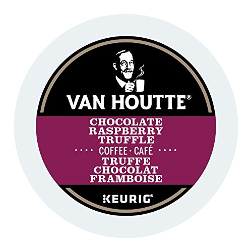 Dark Raspberry Truffle - Van Houtte Raspberry Chocolate Truffle Coffee, K-Cup Portion Pack for Keurig Brewers (24 Count)