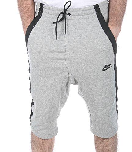Nike Moderna 3/4 Korta Mens 727.338 Dk Grå Ljung / Svart