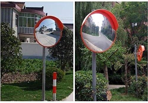 Geng カーブミラー セキュリティミラー、安全交通凸ロードサイド広角レンズブラインドスポットミラー、防止道路交通事故