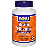 Brain Elevate Formula, 120 Vcaps by Now Foods (Pack of 5)