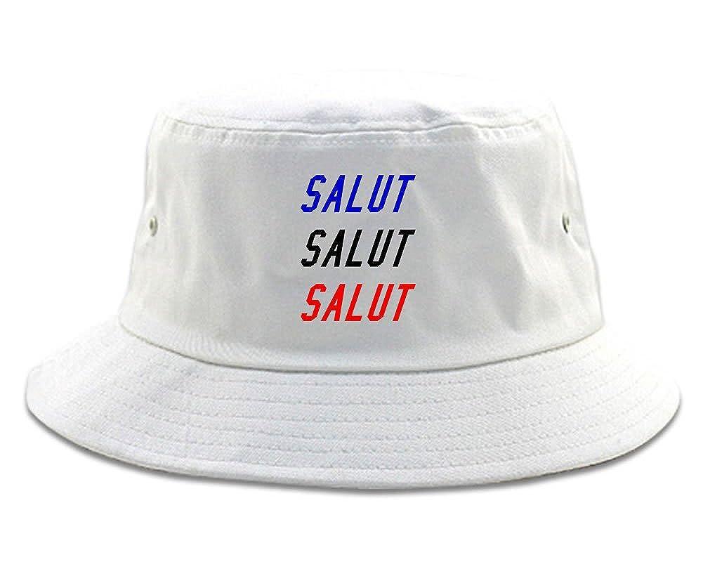 FASHIONISGREAT Salut Hey In French Bucket Hat