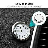 EEEKit Car Clock, Luminous Quartz Analog Watch