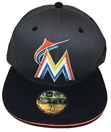 New Era 59Fifty Cap MLB BLACK Miami Marlins