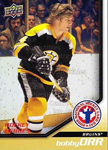 (CI) Bobby Orr Hockey Card 2009 Upper Deck National Hockey Card Day 14 Bobby Orr