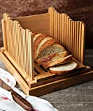 Bamboo Bread Slicer for Homemade Bread Loaf