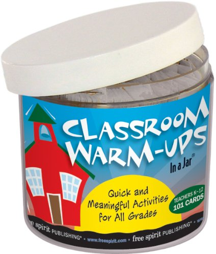 classroom warmup ice breakers in a jar games back to school
