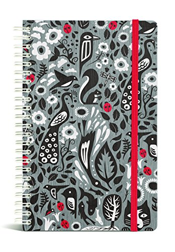 Gift Trenz Franklin Mill Ladybug Wire Notebook, Ruled (1234)