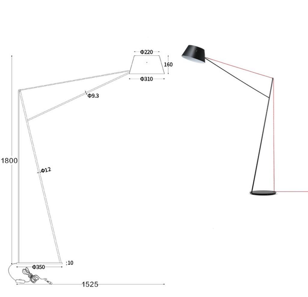 SGKJJ 北欧の現代的なフロアランプシンプルな黒のパーソナリティクリエイティブ装飾の居間ベッドルームベッドロングアーム標準ランプ -759フロアスタンドランプ B07Q37R3D2 (色 SGKJJ : Table Lamp) B07Q37R3D2 Table Table Lamp, 夢大陸:c5063249 --- m2cweb.com