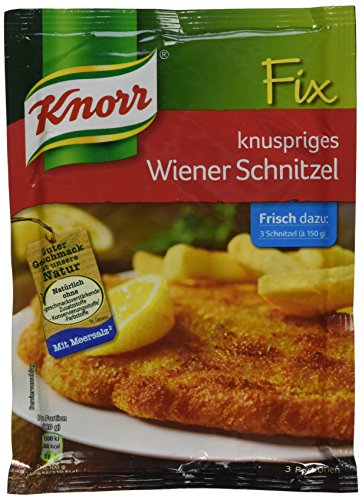 Knorr Fix crispy Wiener schnitzel (knuspriges Wiener-Schnitzel) (Pack of 4)