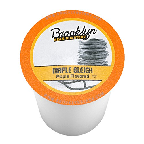 Brooklyn Beans Maple Sleigh Single-Cup coffee for Keurig K-Cup Brewers, 40 Count (Small Sleigh)