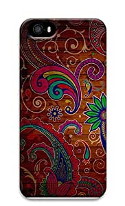 iPhone 5 5S Case patterns abstract retro parallax colors wood 65 3D Custom iPhone 5 5S Case Cover