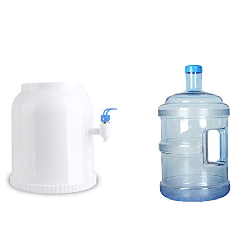 H&RB Mini Mesa Encimera Botella Agua Refrigerador Dispensador Inicio Uso De La Oficina,White,