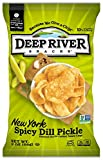 new york spicy dill chips - Deep River Snacks New York Spicy Dill Pickle Kettle Cooked Potato Chips, 2-Ounce (Pack of 24)