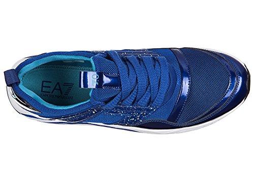 Scarpe Da Tennis Uomo Scarpe Da Uomo Di Armani Ea7 Trainer 7.0 Blu