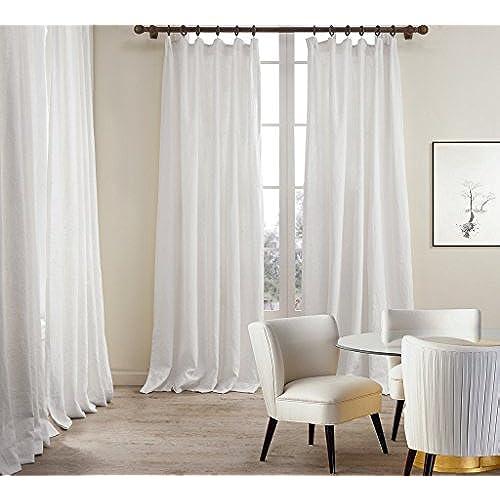 white linen curtain panels. Black Bedroom Furniture Sets. Home Design Ideas