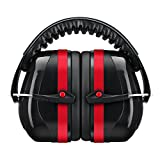 Mpow NNR 28dB/SNR 34dB NRR Safety Ear Muffs Shooter Hearing Protection, ANSI S3.19&CE EN521 Certified, Folding-Padded Head Band Ear Cups with Soft Foam, Fits Adults and Kids