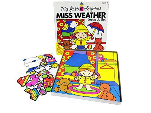 My First Colorforms - Miss Weather Dress up Set by -