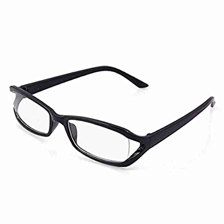 60a3123025c Miki Co Black Polished Plastic Full Rim Clear Lens Glasses  Amazon.co.uk   DIY   Tools