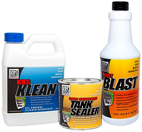 KBS Coatings 52000 Sealer Kit-5 Gallon Tank (Best Fuel Cleaner For Motorcycles)