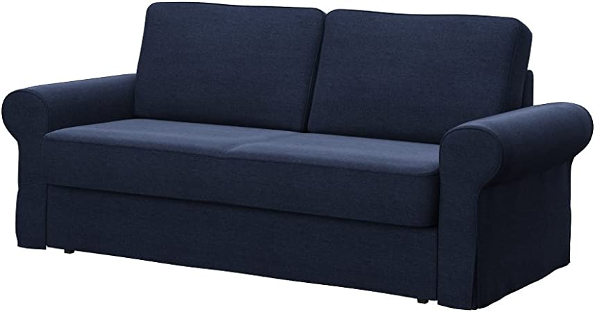 Soferia - IKEA BACKABRO Funda para sofá Cama de 3 plazas, Classic Purple: Amazon.es: Hogar