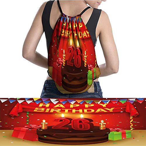 G Idle Sky Chocolate Canvas Drawstring Bag CakeCandlesRibbons Clear Drawstring Bag ()