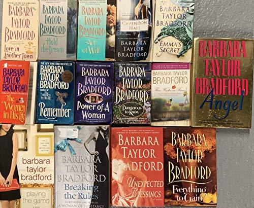 Barbara Taylor Bradford Romance Novel Collection 15 BOOK SET (Barbara Taylor Bradford To Be The Best)