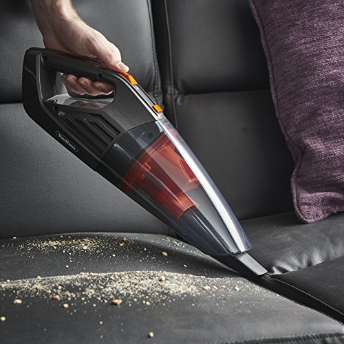 VonHaus 14.8V Cordless Handheld Wet & Dry Vacuum Cleaner – Powerful 6Kpa Cyclonic Suction with Rechargeable Lithium-Ion Battery, Docking Station, 2x Filters and Accessories for Home and Car Cleaning by VonHaus (Image #4)