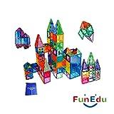 32-piece Magnetic tiles Building Blocks Starting Toys Set, Powerful Magnets, One Wheel Base, one bonus bag, for kids.