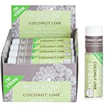 Soothing Touch Coconut Lime Vegan Lip Balm , .25 oz (85% Organic) (Case of 12) For Sale