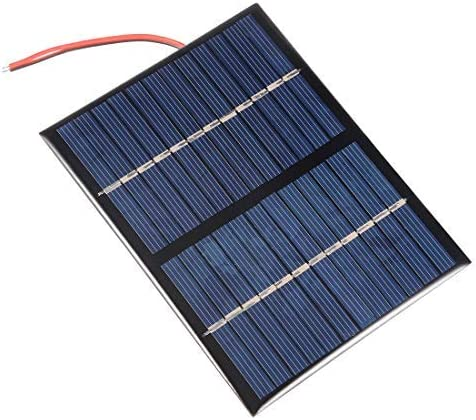N/A 1,5 W 12 V kleines Solarmodul für Basteln Polysilizium mit 150 mm Kabel für Spielzeug