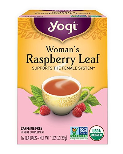 Yogi Raspberry Tea (Yogi Teas: Woman's Raspberry Leaf Tea, 16 ct (3 pack))