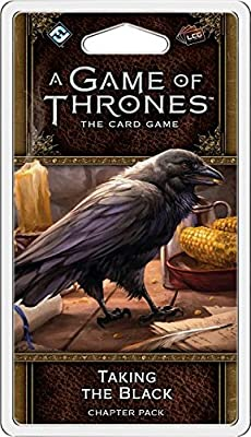 A Game of Thrones LCG 2nd Edition: Taking The Black Chapter Pack Board Game by Fantasy Flight Publishing