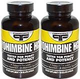 Yohimbine Hcl Supplements Vegetarian Capsules Primaforce (90 Vegetarian Capsules X 2)