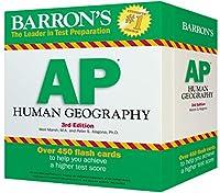 Barron's AP Human Geography Flash Cards, 3rd Edition