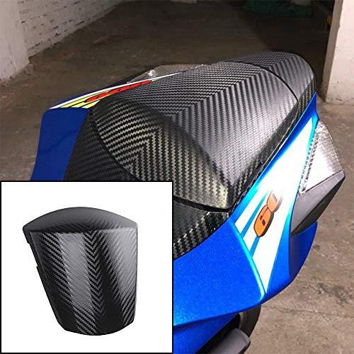 XX eCommerce Motorcycle Motorbike Carbon Pattern Rear Solo Seat Cowl Cover for 2011-2018 Suzuki GSXR GSXR600 GSXR750 GSX-R 600 750 2012 2013 2014 2015 11-18 (Gloss black)