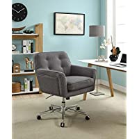 Serta Style Ashland Home Office Chair, Twill Fabric, Gray
