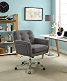 "Serta ""Ashland"" Winter River Gray Home Office Chair"