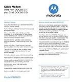 Motorola MB8600 DOCSIS 3.1 Cable Modem, 6 Gbps