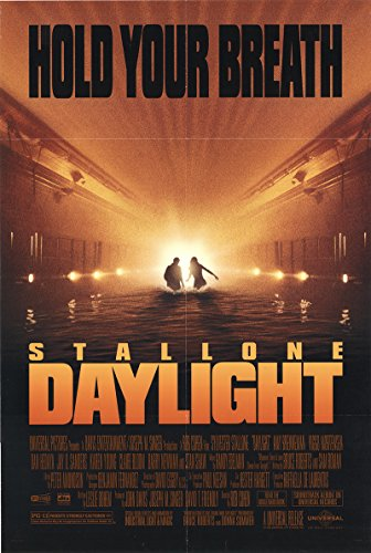 Daylight 1996 Authentic Original Movie Poster Rolled Fine Sylvester Stallone Thriller U.S. One Sheet