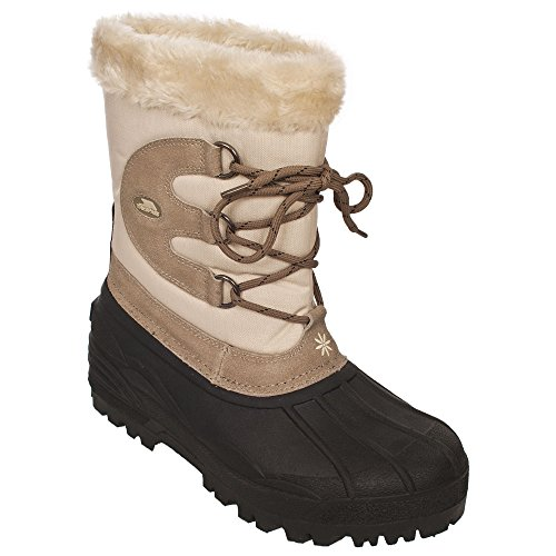 Trespass Womens/Ladies Florel Waterproof Winter Snow Boots (5 US) (Ghost)